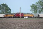 3 Different GP38-2 Leasers.