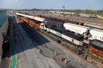 BNSF consist heads out.