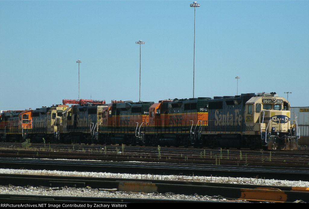 BNSF Engine Line