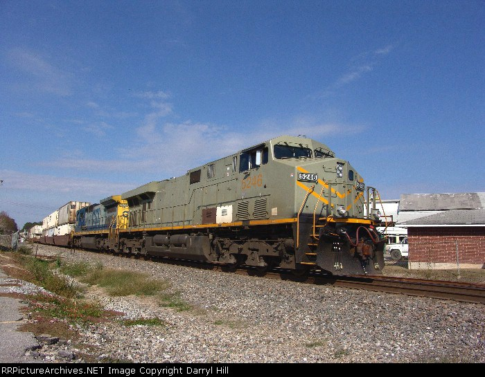 CSX 5246 primed and ready