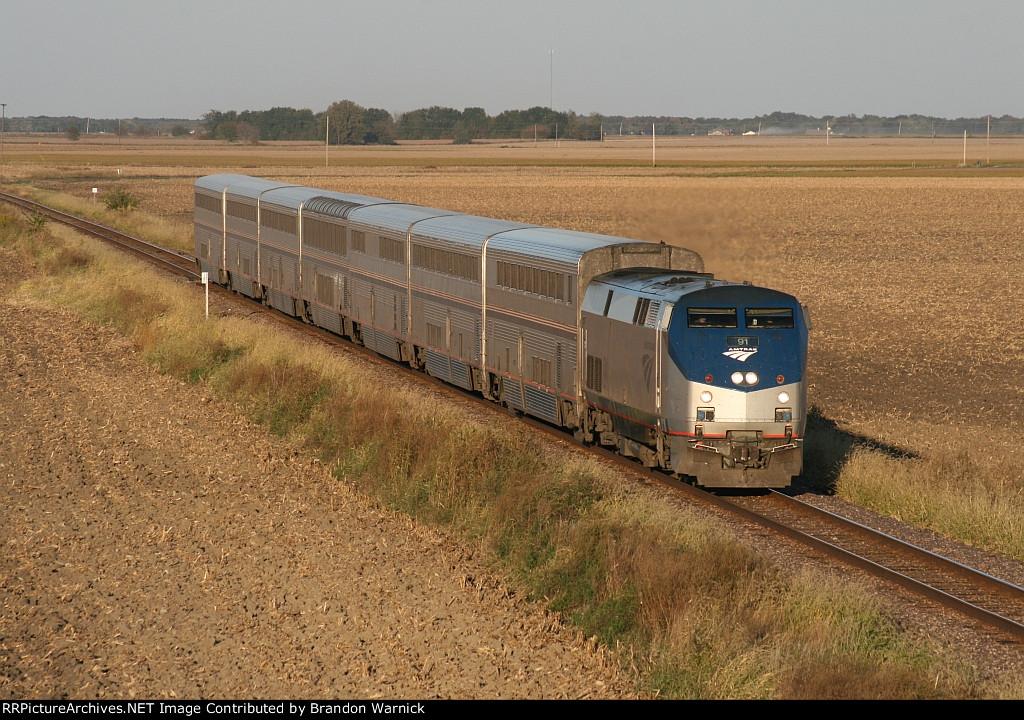 Amtrak #91