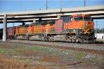 Eastbound grain train