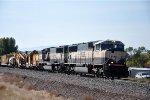 Work train rolls west