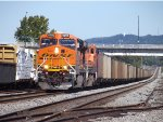 NS 735 32nd St. Re Routed BNSF Scherer Coal Train.