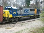 CSX Heading North - Locomotive #2