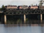 WC 7520 crossing Escanaba River