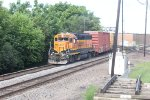 BNSF 2015 works a local at the diamonds in Rochelle