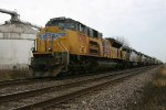 UP 8390 with 5 Ex KCS SD40-3