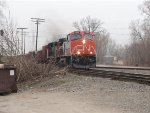 CN 2694 aproaching Subway Road in FDL