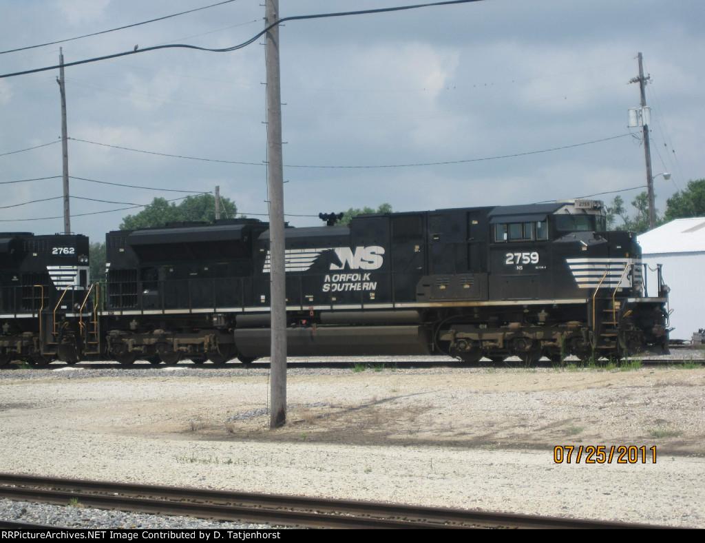 NS SD70M-2 #2759