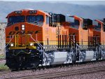 BNSF 6790, BNSF 6789, and BNSF 6787 Up Close shot as they Head West on their First Run out of GE!!!