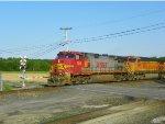 Three BNSF's Lead Q393-18 West