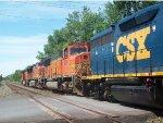 BNSF 8274 & BNSF 4019