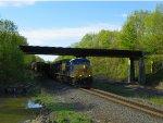 CSX 5467 Leads Single Eastbound