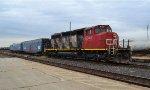 CN track evaluation train