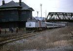 NJT F-40-PH #4125 is heady to push back to Newark, I do believe this was the last day of service to Phillipsburg