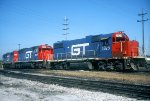 GTW GP38-2 5825