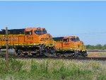 BNSF ES44DC 7418 & BNSF C44-9W 5007