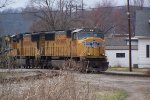 Union Pacific on CSX track