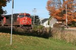 CN 2625 passing through Rock, MI