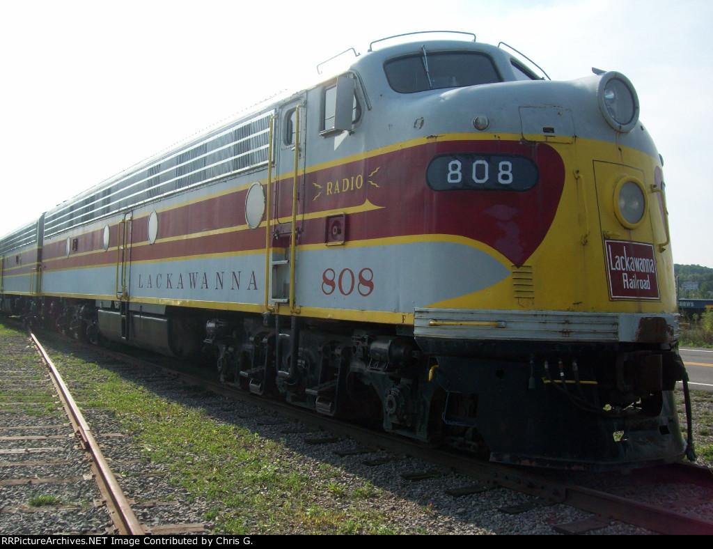 Lackawanna Railroad 808