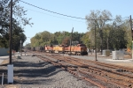 BNSF 4170 leads Consumers coal train up the Pere Marquette