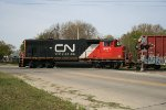 CN 9473 On Broadway St Crossing