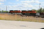 BNSF 9189 and 9159 coal power NGB Yard