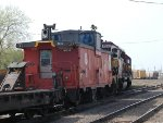WC 7514 with WC 15 coming into NGB Yard