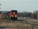 CN 2691 southbound at siding