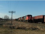 CN 2691 southbound on the mainline