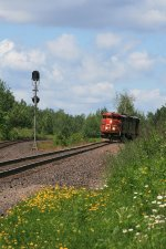 CN 5527 coming light