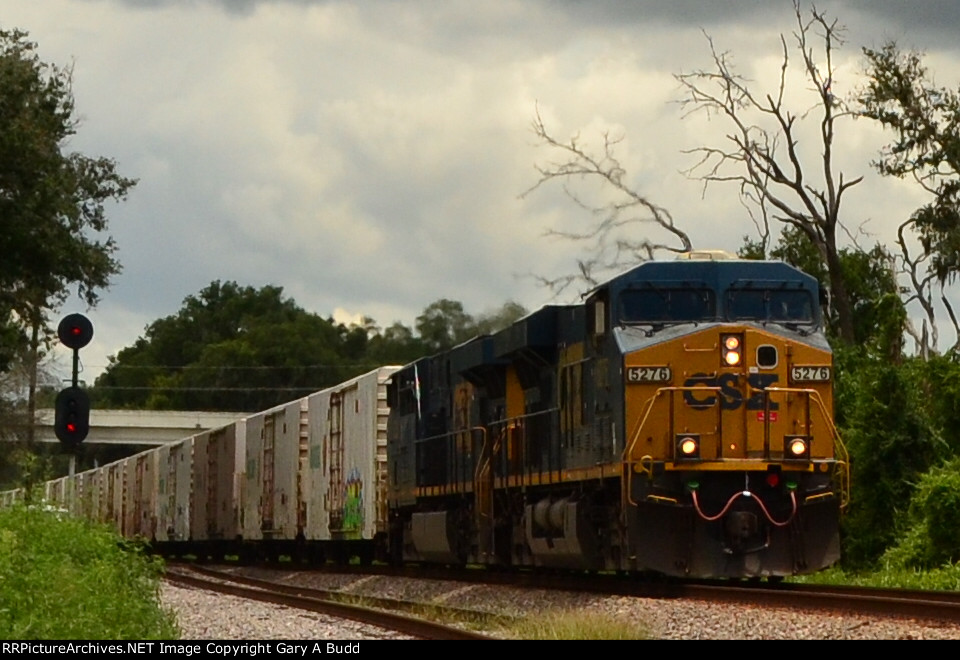 CSX L740 TROPICANA JUICE TRAIN