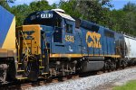 CSX GP39-2 4303 ASSISTING WITH Q613 DUTIES