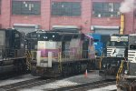 NORFOLK SOUTHERN MBTA 1117 AT NS ALTOONA SHOPS