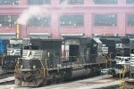 NORFOLK SOUTHERN SD60 6550 GUTTED