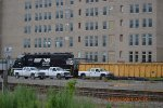 NORFOLK SOUTHERN SD40-2 6111 WITH WORK TRUCKS