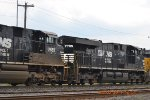 NORFOLK SOUTHERN ES40DC 7705 LONG HOOD