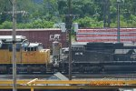 UNION PACIFIC 4340 NS 2678  SHORT CAB SHOT