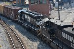 NORFOLK SOUTHERN SD40-2 6196 LONG HOOD