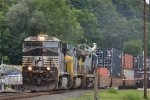 NORFOLK SOUTHERN ON THE CSX RIVERLINE