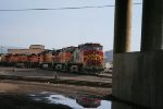 BNSF 4710 with some swoop engines