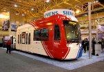 UTA TRAX Streetcar at the Siemens booth