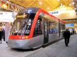 Streetcar at Bombardier booth