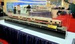 MTA M-8 Passenger can model at the Kawasaki booth