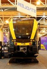 Stadler GTW 2/6 trainset on display