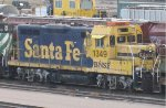 Retired GP7 chop at Northtown in Mpls MN in 2007.