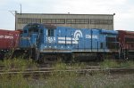 A Conrail uboat purchased by the Minnesota Commercial RR in 2007.