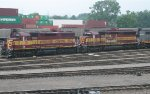 WC units on the CN at Northtown MN in 2005
