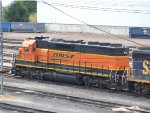 Another awful pic, but a reborn SD45-2 carbody BNSF 1572